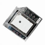 SATA Festplatten Caddy für 12, 7 mm hohe CD/DVD/Blu-ray Laufwerke, LogiLink® [AD0016]