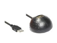 USB 2.0 Docking Verlängerungskabel, schwarz, 1, 5m, Good Connections®