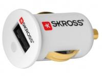 KFZ-Ladegerät für USB Anschlüsse, weiß, SKROSS®