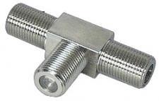 Adapter, Verteiler F-Kupplung an 2x F-Kupplungen, Good Connections®