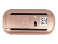 Optische 3-Tasten Maus 2, 4 GHz kabellos weiß / rosé, Delock® [12536]