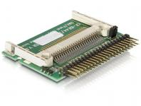 Card Reader IDE 44pin Stecker zu Compact Flash, Delock® [91655]