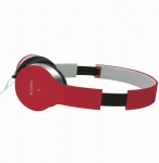 Stereo High Quality Headset, Rot, LogiLink® [HS0035]