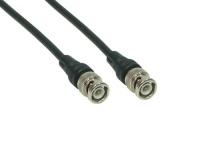 kabelmeister® BNC RG58 Netzwerkkabel, 50 Ohm, 0, 5m