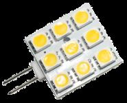 Power SMD LED, 1, 6W, 10 - 25V, 85 lm, 3000K, (warmweiß), nicht dimmbar, A+, 120____deg; Abstrahlwinkel