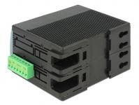 Switch Gigabit 4 Port RJ45 PoE + 1 SFP für Hutschiene, Delock® [87660]