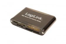 LogiLink® USB 2.0 externer Card Reader [CR0013]