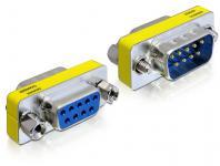 Adapter Sub-D 9Pin Stecker an Buchse, Portschoner, Delock® [65249]