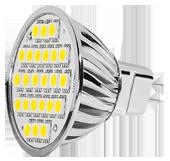 Power SMD-LED, 5W, 12V, 350 lm, 3000K, (warmweiß), nicht dimmbar, A+, 120____deg; Abstrahlwinkel
