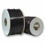 Modular-Flachbandkabel 6-adrig schwarz, 500m-Rolle, Good Connections®