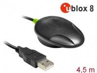 NL-82012U USB 2.0 Multi GNSS UDR Empfänger, u-blox, NEO-M8U, 4, 5m, Navilock® [62758]