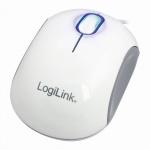 Cooper - Optische Mini Maus, 1000 dpi, Weiß/Grau, LogiLink® [ID0093A]