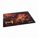 Ultra dünnes Glimmer Gaming Mauspad, Wolf Design, LogiLink® [ID0141]