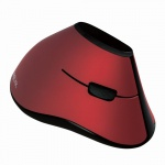 Ergonomic Vertical Mouse, Funk 2.4 GHz, rot, LogiLink® [ID0159]