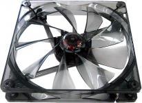 AeroCool® V14 BlackLine Edition, 140mm x 140mm x 25mm, transparent/schwarz