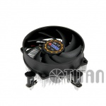 Titan® Aktiv-Kühler für Intel LGA 1156 core i3, i5 unterstürzt bis 75W CPU mit Gleitlager Lüfter