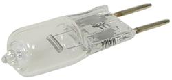 Halogen-Stiftsockellampe, 10W, 12V, 100 lm, 2700K, (warmweiß), dimmbar, C, 360____deg; Abstrahlwinkel