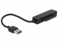 Konverter USB 3.0 Typ-A Stecker an 22 Pin SATA 6 Gb/s mit 2.5' Schutzhülle, Delock® [62742]