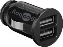 KFZ USB-Ladeadapter, 2-Port, 3, 1 A, schwarz