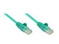 Patchkabel, Cat. 5e, U/UTP, grün, 0, 25m, Good Connections®