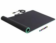 USB Mauspad 920 x 303 x 3 mm mit RGB Beleuchtung, Delock® [12555]