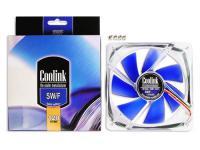 Coolink® Blue Fan SWiF-1202 Basic Gehäuselüfter 120mm, 1600 U/min, 24 dB(A)