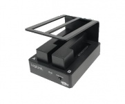 LogiLink® Dockingstation Quickport USB 3.0 2, 5/3, 5' HDD Dual Bay [QP0010]