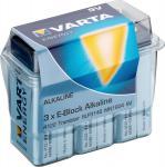 Varta® Batterie, (4122) Energy (Alkaline), 6LR61, Block, 9V, 3er Box