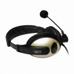 Stereo Headset mit hohem Tragekomfort , LogiLink® [HS0011A]