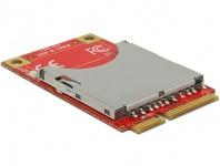 Mini PCIe I/O PCIe full size 1x SD Card Slot, Delock® [95261]