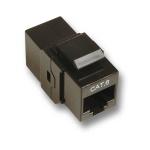 Modular-Adapter Cat.6 UTP Snap-In, RJ45 Bu/Bu, 1:1