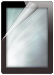 Displayschutzfolie für das iPad 2, transparent
