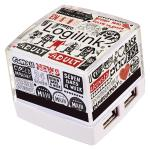 LogiLink® USB 2.0 HUB, Cube, 4-Port, Beleuchtet, weiß [UA0117]