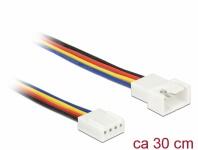 Verlängerungskabel PWM Lüfteranschluss 4 Pin, 0, 30 m, Delock® [85361]