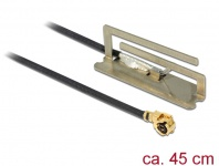 WLAN Antenne MHF/ U.FL-LP-068 802.11 kompatibler Stecker ac/a/h/b/g/n PIFA 1, 6 dBi 45 cm intern, Delock® [86389]
