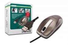 3 Tasten USB Maus mit Scrollrad, optisch 800dpi, Digitus® [DA-20127-1]