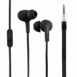 Wassergeschütztes (IPX6) Stereo In-Ear Headset, Schwarz, LogiLink® [HS0042]