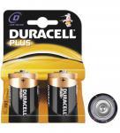 Duracell® Plus Batterie (Alkali Mono) LR 20 DP (D) 1, 5V, 2er Pack in Blister