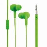 Wassergeschütztes (IPX6) Stereo In-Ear Headset, Grün, LogiLink® [HS0044]