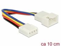 Verlängerungskabel PWM Lüfteranschluss 4 Pin, 0, 10 m, Delock® [85360]