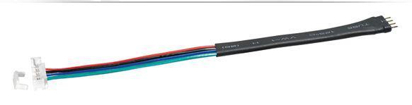 Clip Adapter für 10 mm RGB LED-Leisten, 0, 15m, inkl. eine Tube mit 10 ml Silikon