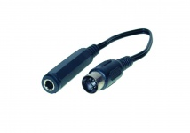 kabelmeister® Audio Adapter 5-pol DIN St. an 6, 3 Stereo Buchse, Länge:0, 2m