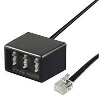Telefonadapter RJ11 (6/4) Stecker an NFN Buchse, Good Connections®