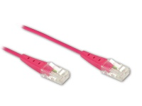 ISDN-Anschlusskabel, magenta, 1.5m , Good Connections®