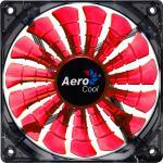 AeroCool® Shark Fan Evil Black Edition, 120mm x 120mm x 25mm, schwarz/orange [EN55444]