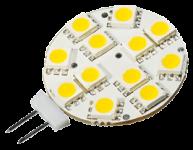 Power SMD-LED, 2, 5W, 12V, 140 lm, 3000K, (warmweiß), nicht dimmbar, A+, 120____deg; Abstrahlwinkel