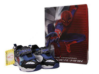 Spider Man Turnschuhe mit Licht neu aus England