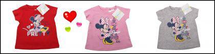 Minnie Maus Shirt in 3 Tollen Farben aus England