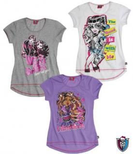 Monster High T-Shirt in 3 Farben - Vorschau 1