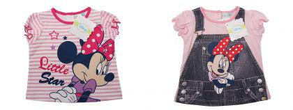 Disney Minnie T-Shirt in 3 ver.Farben
